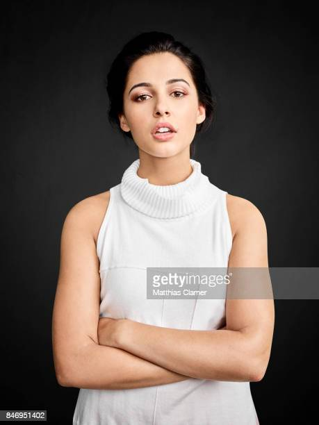 Actress Naomi Scott from 'Power Rangers' is photographed for Entertainment Weekly Magazine on July 22 2016 at Comic Con in the Hard Rock Hotel in San...