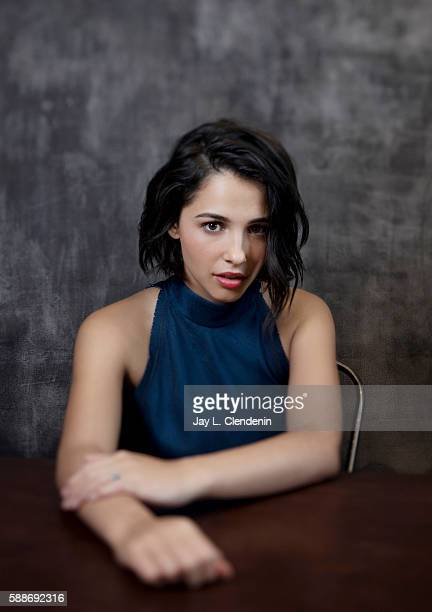 Actress Naomi Scott of 'Power Rangers' is photographed for Los Angeles Times at San Diego Comic Con on July 22 2016 in San Diego California