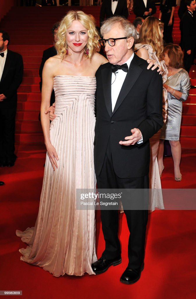 Actress Naomi Watts and Director Woody Allen depart the 'You Will Meet A Tall Dark Stranger' Premiere at the Palais des Festivals during the 63rd Annual Cannes Film Festival on May 15, 2010 in Cannes, France.