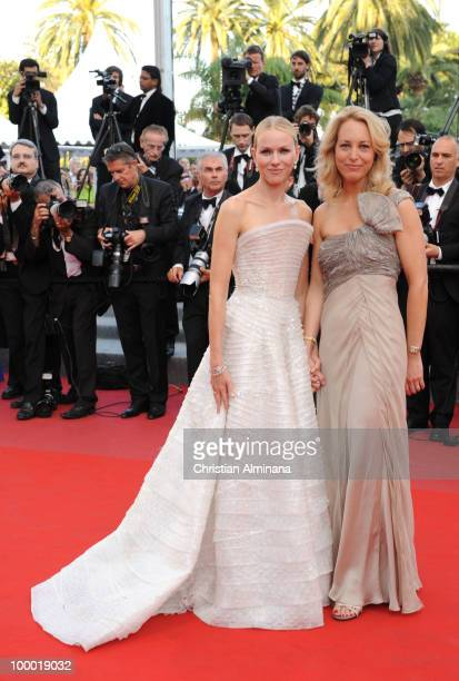 Actress Naomi Watts and Former CIA agent Valerie Plame attends the 'Fair Game' Premiere held at the Palais des Festivals during the 63rd Annual...