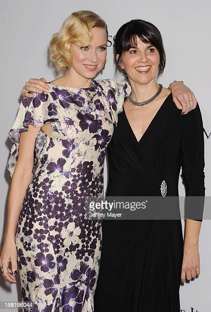 Actress Naomi Watts and producer Maria Belon arrive at the 'The Impossible' Los Angeles Premiere at ArcLight Cinemas Cinerama Dome on December 10...