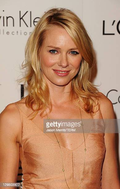 Actress Naomi Watts arrives at ELLE's 18th Annual Women in Hollywood Tribute held at the Four Seasons Hotel on October 17, 2011 in Los Angeles,...