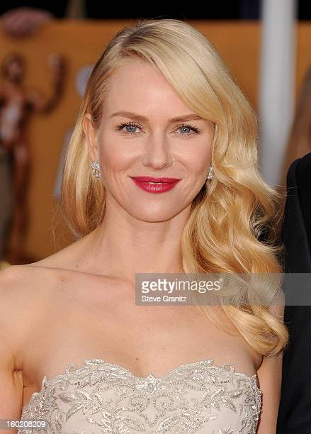 Actress Naomi Watts arrives at the 19th Annual Screen Actors Guild Awards held at The Shrine Auditorium on January 27, 2013 in Los Angeles,...