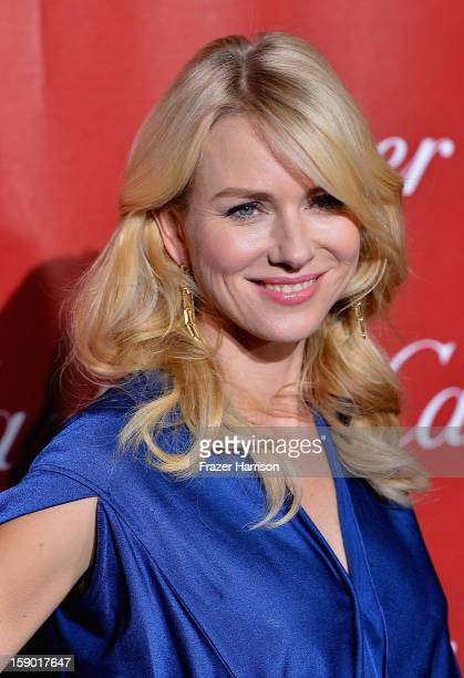 Actress Naomi Watts arrives at The 24th Annual Palm Springs International Film Festival Awards Gala on January 5 2013 in Palm Springs California