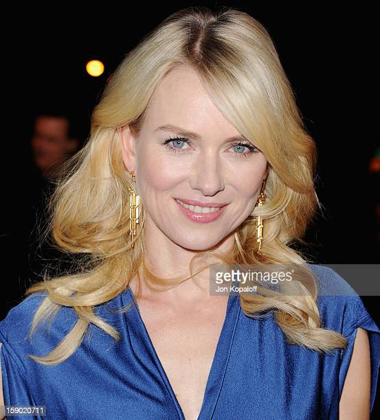 Actress Naomi Watts arrives at the 24th Annual Palm Springs International Film Festival Awards Gala at Palm Springs Convention Center on January 5,...