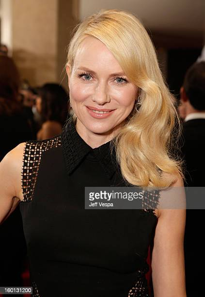 Actress Naomi Watts arrives at the 24th Annual Producers Guild Awards held at The Beverly Hilton Hotel on January 26 2013 in Beverly Hills California