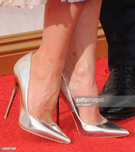 Actress Naomi Watts arrives at the 67th Annual Primetime Emmy Awards at Microsoft Theater on September 20 2015 in Los Angeles California