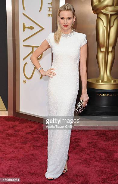 Actress Naomi Watts arrives at the 86th Annual Academy Awards at Hollywood Highland Center on March 2 2014 in Hollywood California