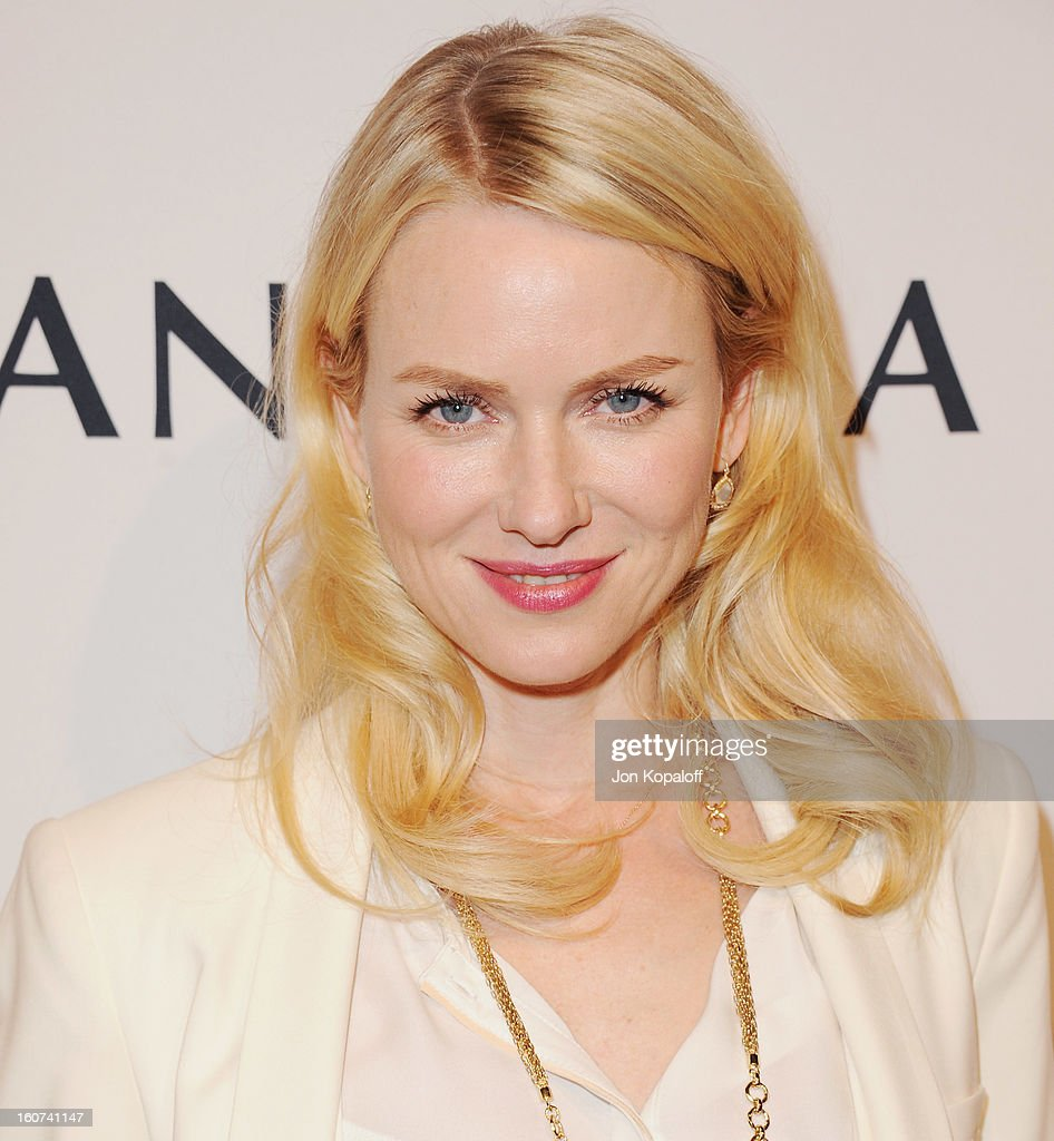 Actress Naomi Watts arrives at The Hollywood Reporter Nominees' Night 2013 Celebrating 85th Annual Academy Award Nominees at Spago on February 4, 2013 in Beverly Hills, California.