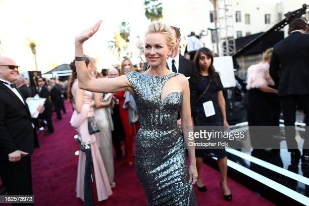 Actress Naomi Watts arrives at the Oscars held at Hollywood Highland Center on February 24 2013 in Hollywood California