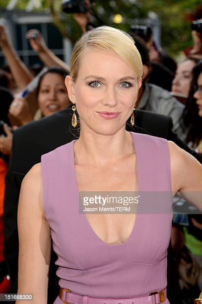 Actress Naomi Watts arrives at the The Impossible Premiere at the 2012 Toronto International Film Festival at the Princess of Wales Theatre on...