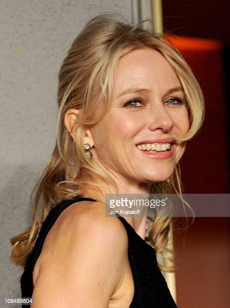 Actress Naomi Watts arrives at the Vanity Fair Oscar Party at Sunset Tower on February 27 2011 in West Hollywood California