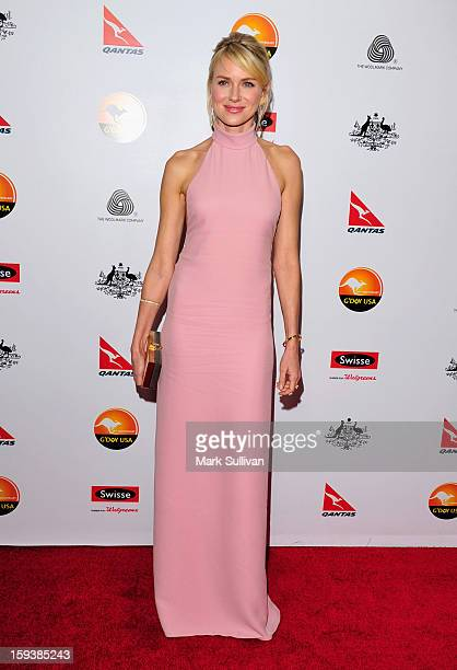 Actress Naomi Watts arrives for the G'Day USA Black Tie Gala held at at the JW Marriot at LA Live on January 12 2013 in Los Angeles California