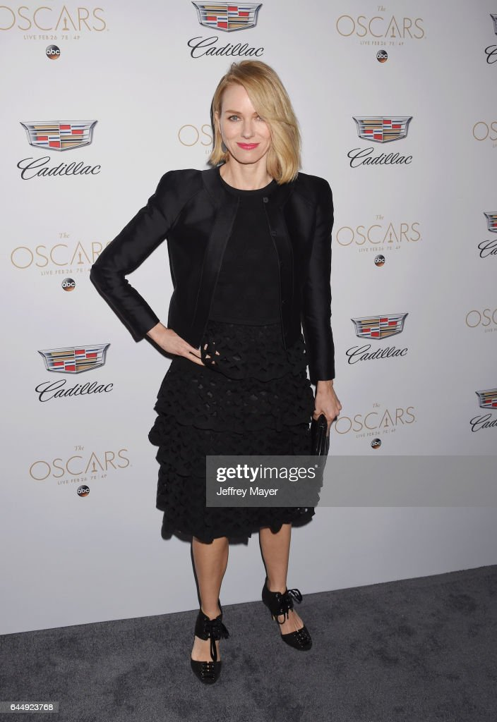 Actress Naomi Watts attends Cadillac's 89th annual Academy Awards celebration at Chateau Marmont on February 23, 2017 in Los Angeles, California.