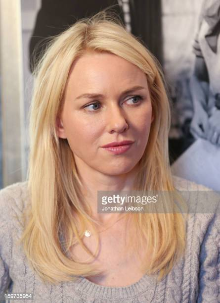 Actress Naomi Watts attends Day 1 of the Variety Studio at 2013 Sundance Film Festival on January 19, 2013 in Park City, Utah.