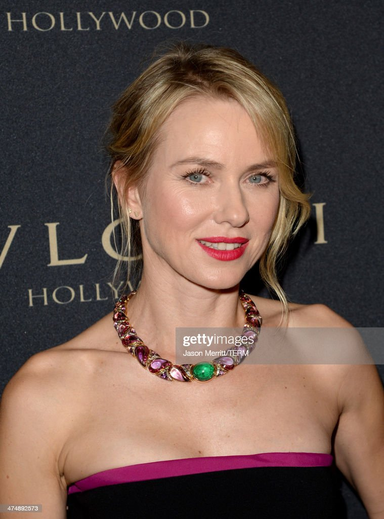 Actress Naomi Watts attends 'Decades of Glamour' presented by BVLGARI on February 25, 2014 in West Hollywood, California.