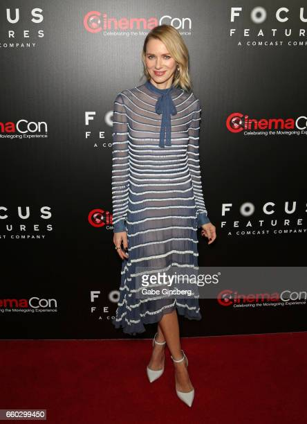 Actress Naomi Watts attends Focus Features luncheon and studio program celebrating 15 Years during CinemaCon at The Colosseum at Caesars Palaceon...