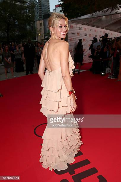 Actress Naomi Watts attends Fox Searchlight's 'Demolition' Toronto International Film Festival gala presentation at Roy Thomson Hall on September 10...
