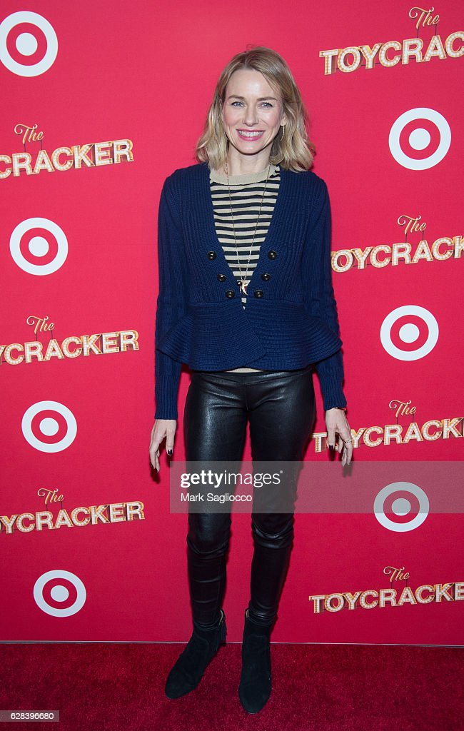 Actress Naomi Watts attends Target's Toycracker Premiere Event at Spring Studios on December 7, 2016 in New York City.