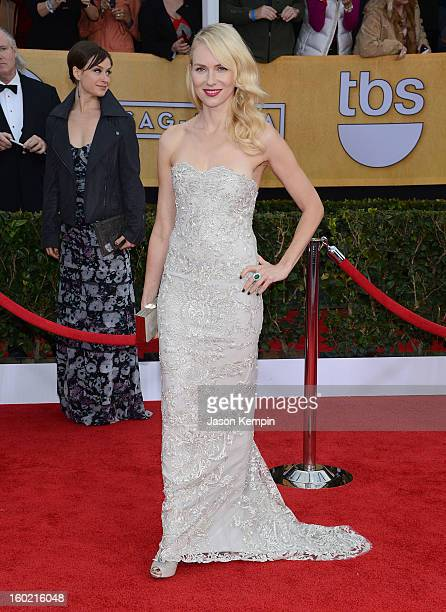 Actress Naomi Watts attends the 19th Annual Screen Actors Guild Awards at The Shrine Auditorium on January 27 2013 in Los Angeles California