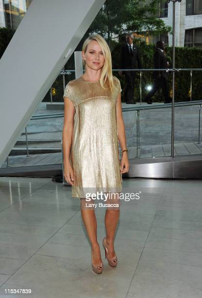 Actress Naomi Watts attends the 2011 CFDA Fashion Awards at Alice Tully Hall Lincoln Center on June 6 2011 in New York City