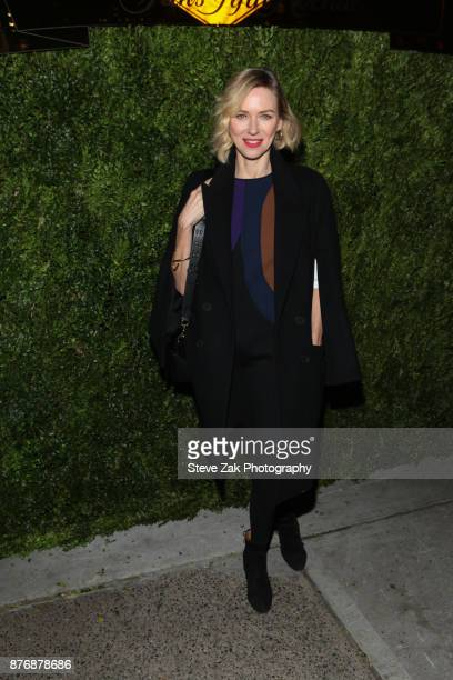 Actress Naomi Watts attends the 2017 Saks Fifth Avenue Disney 'Once Upon a Holiday' Windows Unveiling at Saks Fifth Avenue on November 20 2017 in New...