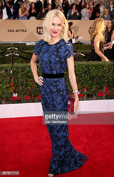 Actress Naomi Watts attends the 22nd Annual Screen Actors Guild Awards at The Shrine Auditorium on January 30 2016 in Los Angeles California