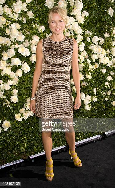 Actress Naomi Watts attends the 6th annual CHANEL Tribeca Film Festival Artists Dinner at Odeon on April 25 2011 in New York City