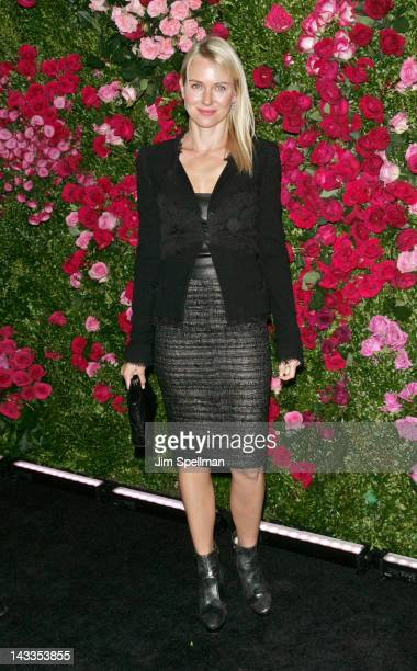 Actress Naomi Watts attends the 7th Annual Chanel Tribeca Film Festival Artists Dinner at The Odeon on April 24 2012 in New York City
