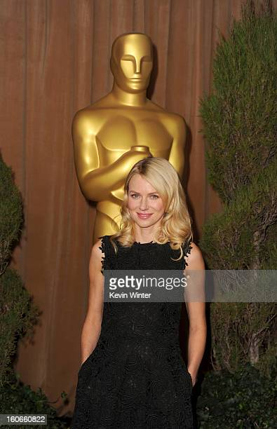 Actress Naomi Watts attends the 85th Academy Awards Nominations Luncheon at The Beverly Hilton Hotel on February 4 2013 in Beverly Hills California
