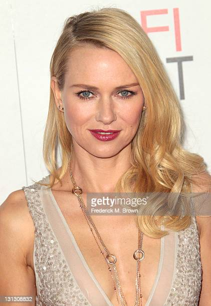 Actress Naomi Watts attends the AFI FEST 2011 Presented By Audi J Edgar Opening Night Gala at Grauman's Chinese Theatre on November 3 2011 in...