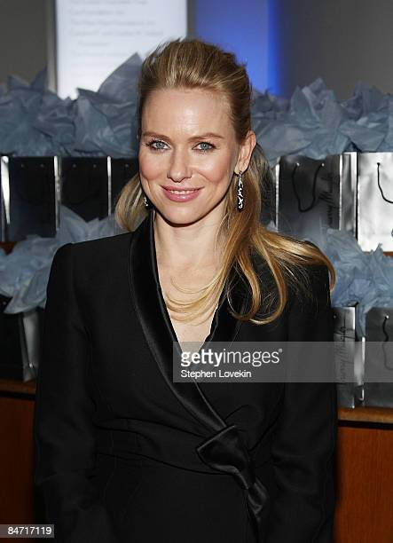 Actress Naomi Watts attends the after party for the Cinema Society and Angel by Thierry Mugler screening of The International at the Solomon R...