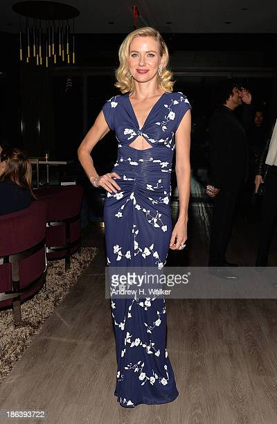 Actress Naomi Watts attends the after party of Entertainment One's Diana hosted by The Cinema Society with Linda Wells and Allure Magazine at The...