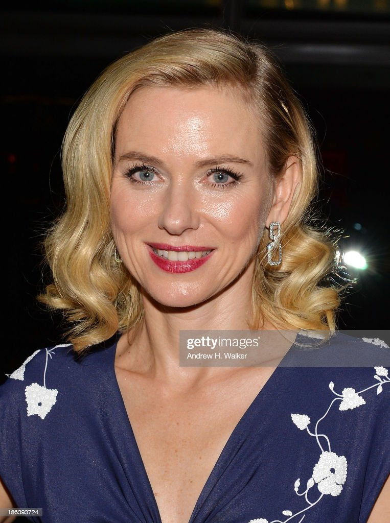 Actress Naomi Watts attends the after party of Entertainment One's 'Diana' hosted by The Cinema Society with Linda Wells and Allure Magazine at The Skylark on October 30, 2013 in New York City.