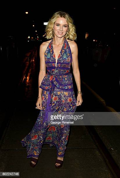 Actress Naomi Watts attends The Bleeder premiere during the 2016 Toronto International Film Festival at Princess of Wales Theatre on September 10...