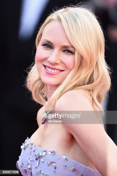 Actress Naomi Watts attends the Cafe Society premiere and the Opening Night Gala during the 69th annual Cannes Film Festival at the Palais des...
