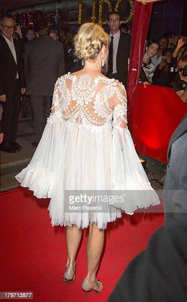 Actress Naomi Watts attends the 'Diana' Paris premiere at Cinema UGC Normandie on September 6 2013 in Paris France