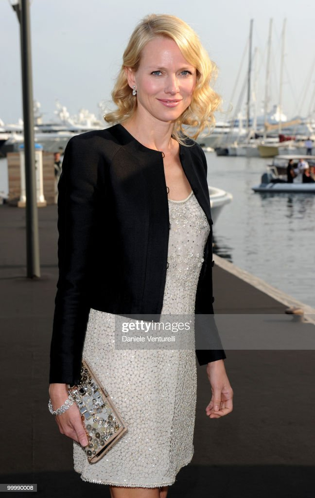 Actress Naomi Watts attends the Fair Game Cocktail Party hosted by Giorgio Armani held aboard his boat 'Main' during the 63rd Annual International Cannes Film Festival on May 19, 2010 in Cannes, France.