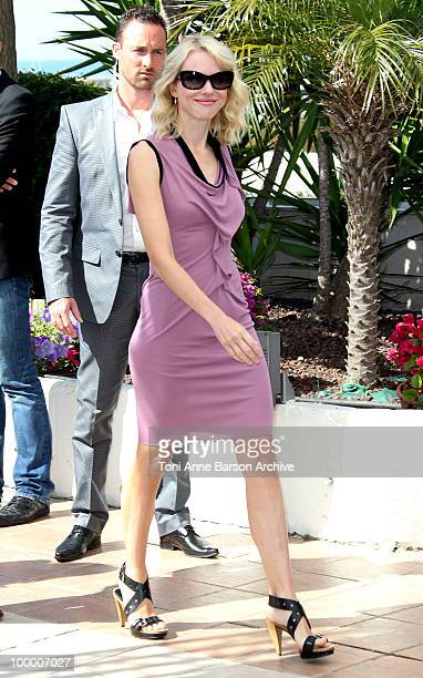 Actress Naomi Watts attends the 'Fair Game' Photo Call held at the Palais des Festivals during the 63rd Annual International Cannes Film Festival on...