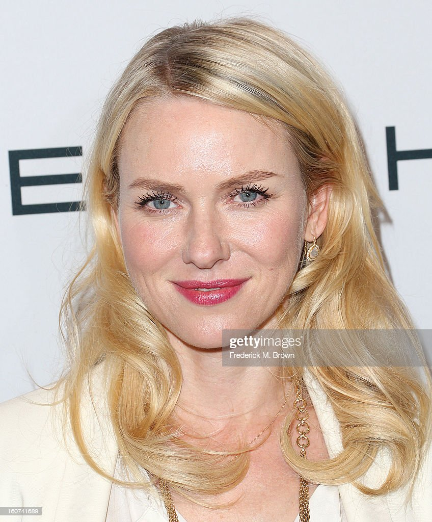 Actress Naomi Watts attends The Hollywood Reporter Nominees' Night 2013 Celebrating The 85th Annual Academy Award Nominees at Spago on February 4, 2013 in Beverly Hills, California.