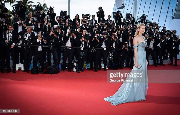 Actress Naomi Watts attends the 'How To Train Your Dragon 2' Premiere at the 67th Annual Cannes Film Festival on May 16 2014 in Cannes France