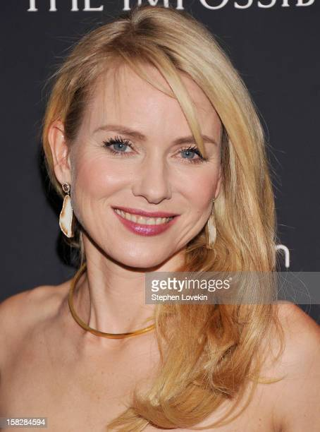 Actress Naomi Watts attends The Impossible New York special screening at Museum of Art and Design on December 12 2012 in New York City
