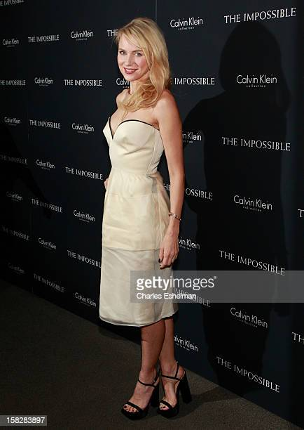 Actress Naomi Watts attends The Impossible screening at the Museum of Art and Design on December 12 2012 in New York City