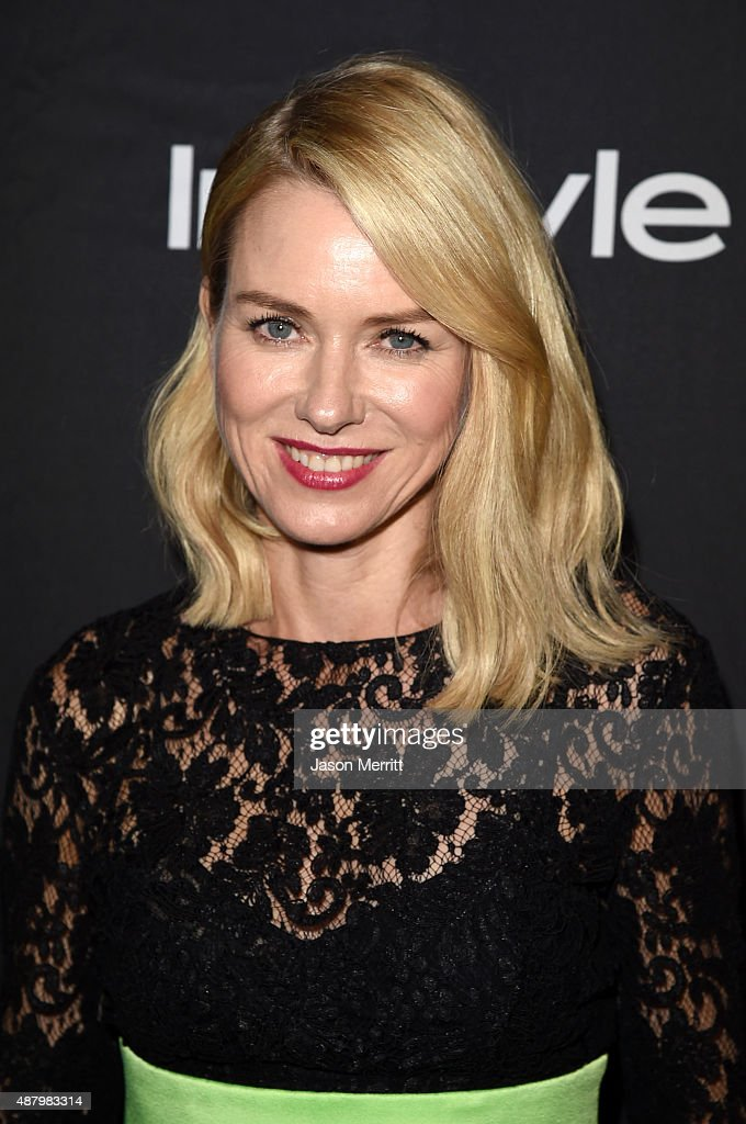 Actress Naomi Watts attends the InStyle & HFPA party during the 2015 Toronto International Film Festival at the Windsor Arms Hotel on September 12, 2015 in Toronto, Canada.