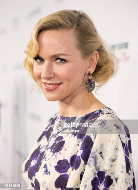 """Actress Naomi Watts attends the Los Angeles Premiere of """"The Impossible"""" presented by Grey Goose Vodka at ArcLight Cinemas on December 10, 2012 in..."""