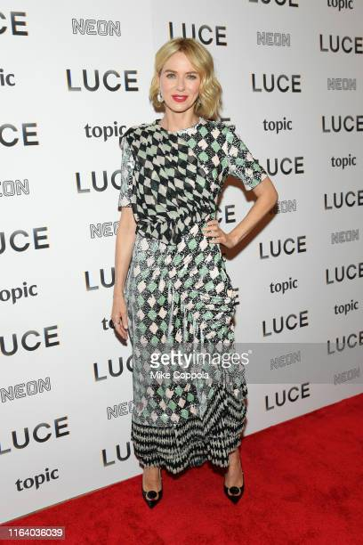 Actress Naomi Watts attends the Luce New York Premiere at the Whitby Hotel on July 24 2019 in New York City