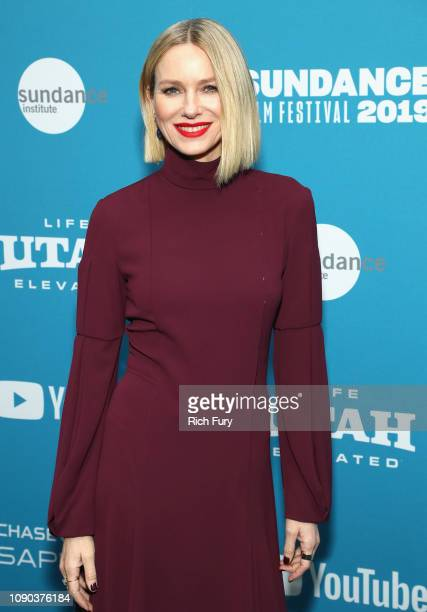 Actress Naomi Watts attends the Luce Premiere during the 2019 Sundance Film Festival at Library Center Theater on January 27 2019 in Park City Utah