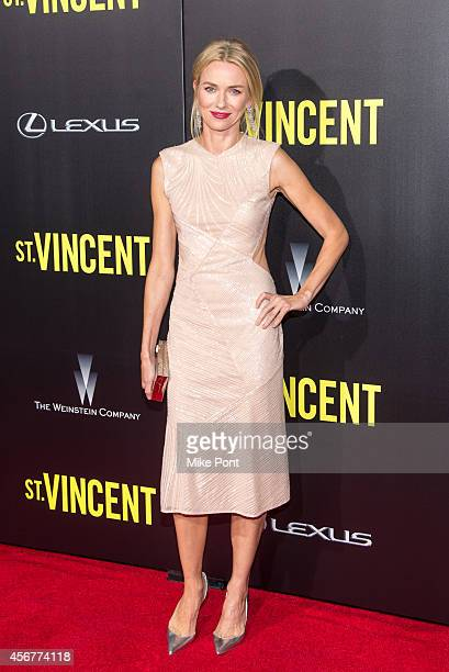 Actress Naomi Watts attends the New York Premiere of 'St Vincent' at the Ziegfeld Theater on October 6 2014 in New York City