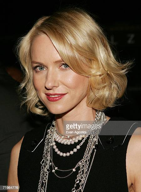 Actress Naomi Watts attends the New Yorkers For Children annual fall gala dinner at Cipriani's 42nd Street September 21 2006 in New York City