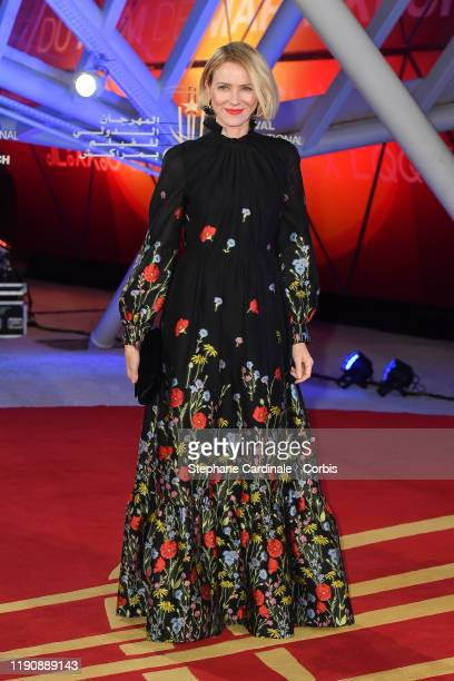 Actress Naomi Watts attends the opening ceremony during the 18th Marrakech International Film Festival on November 29, 2019 in Marrakech, Morocco.